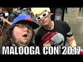 Malooga Con 2017 Vlog Tampa Bay Convention center Video Game