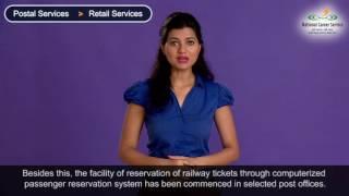Postal Services - Retail Services