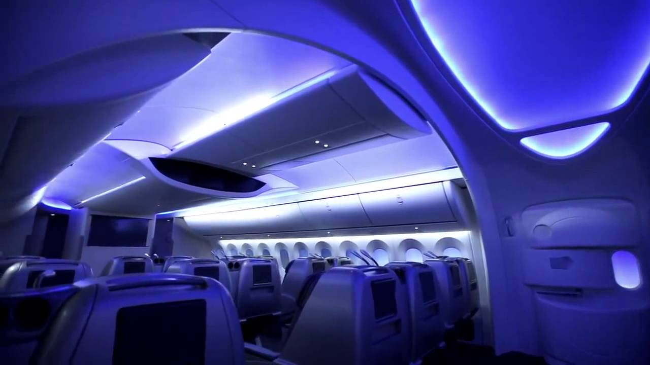 Wonderful Boeing Sky Interior: More Space In The Sky #Boeing   YouTube