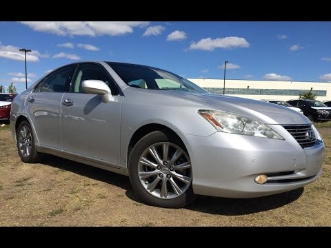 pre owned silver 2008 lexus es 350 ultra premium package in depth review whitecourt alberta. Black Bedroom Furniture Sets. Home Design Ideas