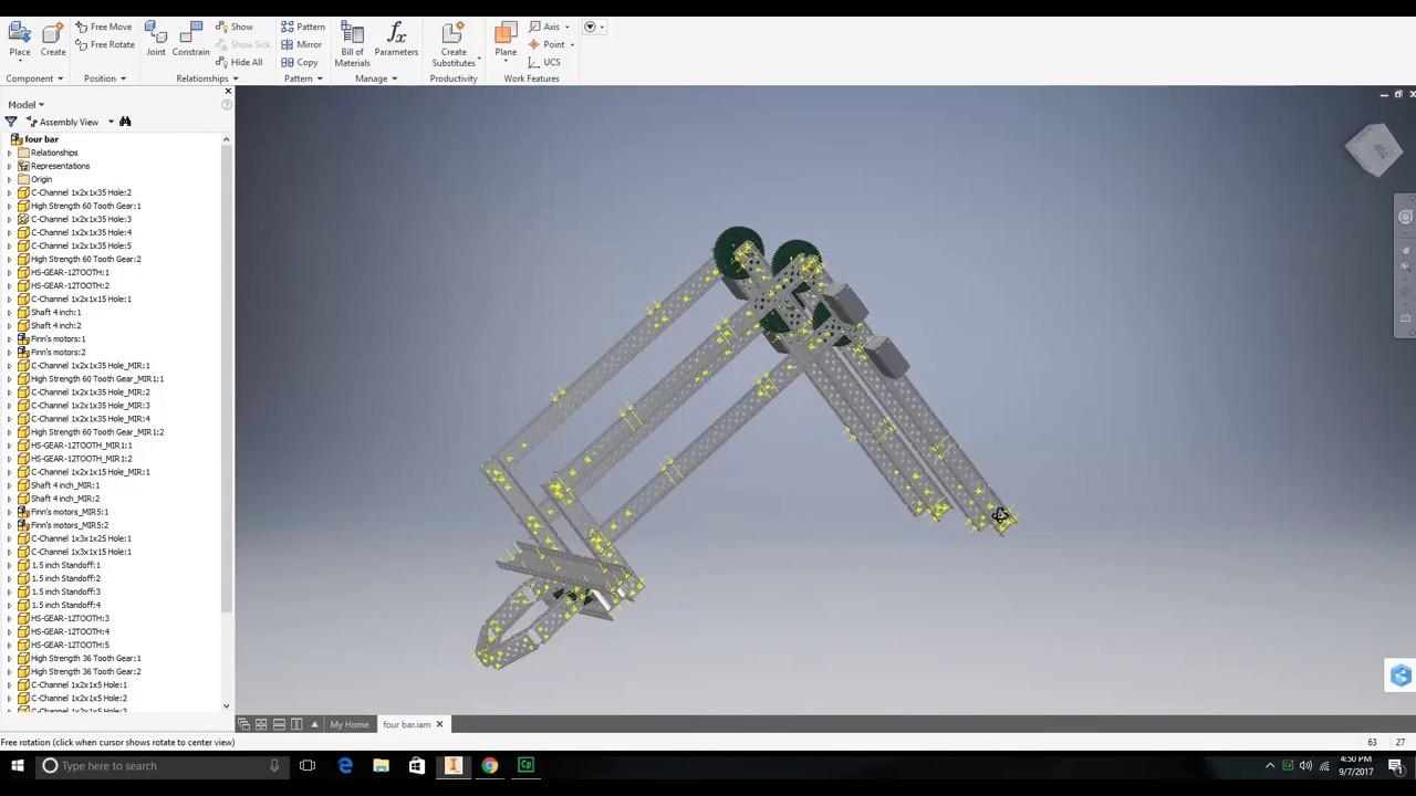 how to build a scissor lift vex
