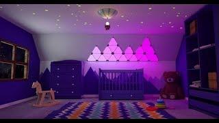 Фантазии света: Умные панели освещения Nanoleaf Aurora