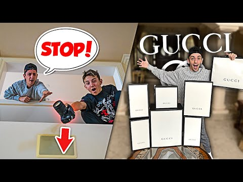 Destroying FaZe Rug's Footage, Then Surprising Him With $10,000 of Gucci