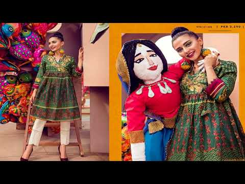 Ethnic By Outfitter Viva La Fiesta Ready To Wear For Women Collection 2018