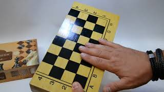 Шахматы, шашки, нарды 3 в 1 бамбуковые Sportbaza Споктбаза