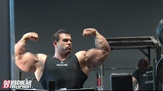Steve Kuclo | Mr. Olympia Prep - Arm Training