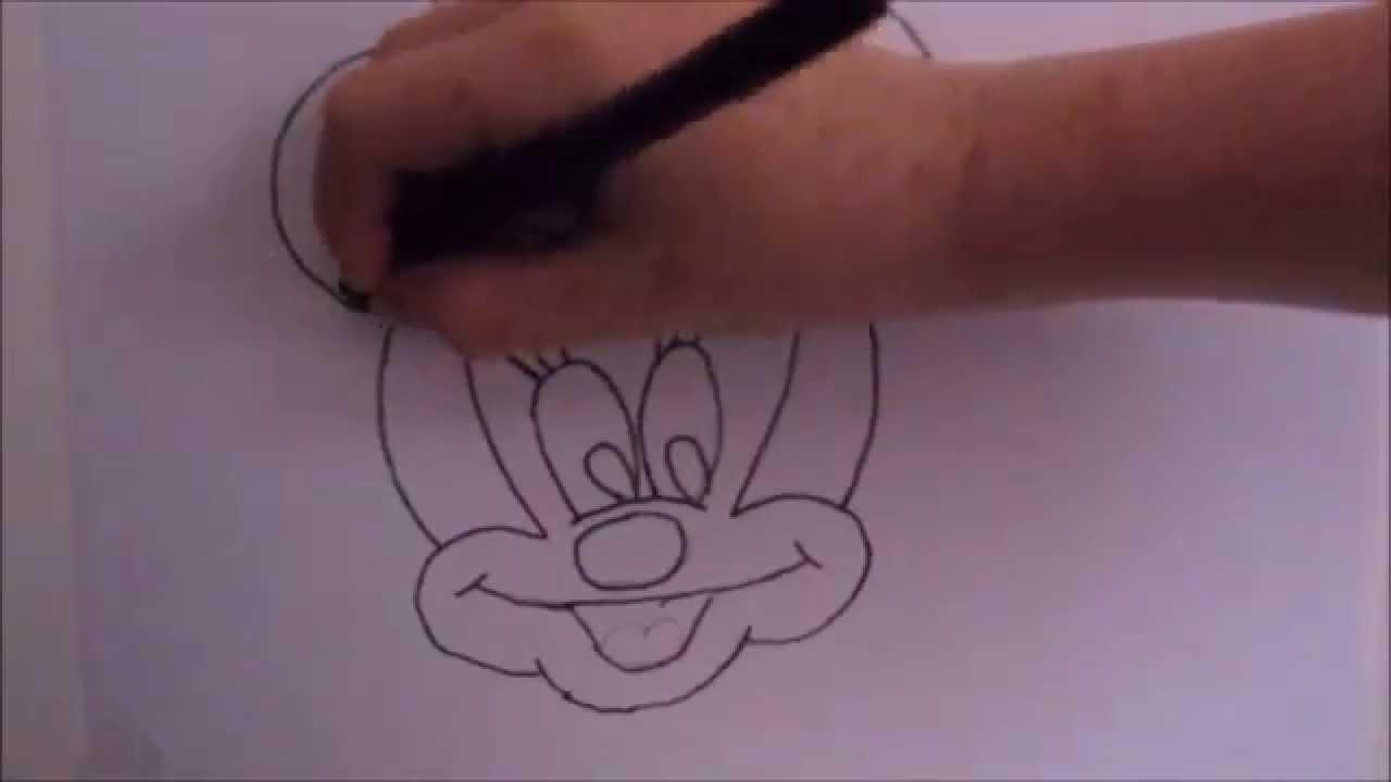 minnie mouse zeichnen # 80