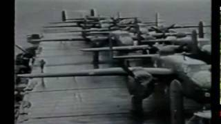 Jimmy Doolittle Japan Raid, B-25 Mitchell Bomber, 1942