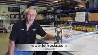 How To Install Heavy-duty All-aluminum Ladder Rack For Gm/ford Vans   Tuff Racks