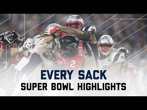 Every Sack From Super Bowl Li
