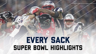 Every Sack From Super Bowl LI | NFL Highlights