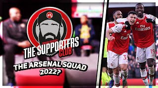 The Arsenal Squad In 2022 | The Supporters Club