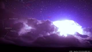 Lightning armageddon over Hilo, Hawaii