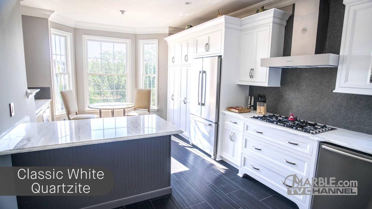 Classic White Snow White  Nano Crystalized Glass Countertops  YouTube