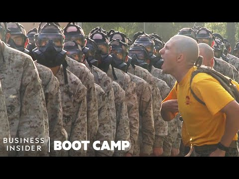 Why Marines Train Inside A Tear Gas Chamber In Boot Camp