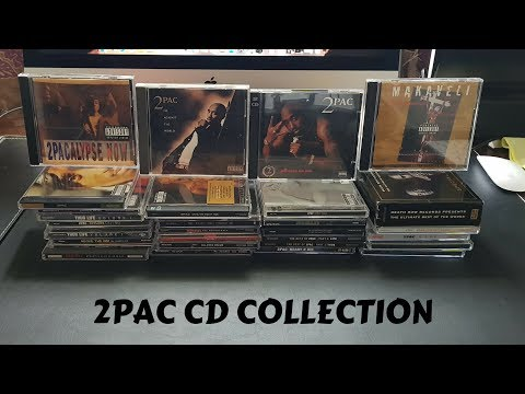 2pac cd collection: Tupac cds