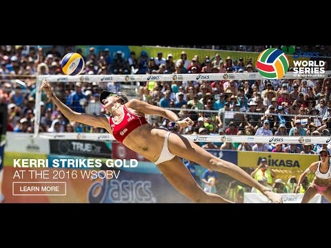 2016 ASICS WSOBV Long Beach Baquerizo & Fernandez ESP vs. Forrer & Verge-Depre SUI