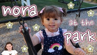 Reborn Toddler Nora goes to the Park! | Kelli Maple