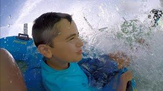 VLOG - Toboggan Aquatique, Torrent d'Eau & Piscine à Vagues au Parc Aquatique Océanile - 2/3