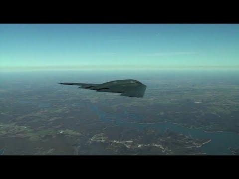 B-2 Spirit Stealth Bomber in Action: B-2 Stealth Bomber Doing Carpet Bombing, B-2 Bomb Drop & More