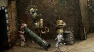 Machinarium Robot Dance close up
