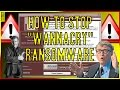 How To STOP WannaCry Ransomware! | Prevention and Explanation!
