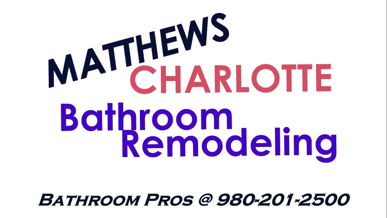 Beau Bathroom Remodeling   Matthews NC   CALL 980 201 2500