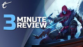 Aragami 2 | Review in 3 Minutes (Video Game Video Review)