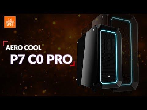 เคสเกมเมอร์สายโชว์ Aerocool PC-C0 Pro RGB กระจกเทมเปอร์ เปิด 2 ด้าน พัดลมเยอะ RGB