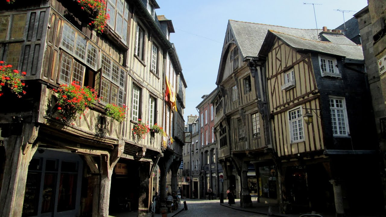 Exploring Dinan Brittany France Youtube