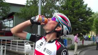 Giacomo's joy in Luxembourg