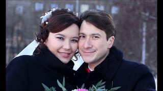 Зимняя свадебная фотосессия.  Часть 1. Оперный