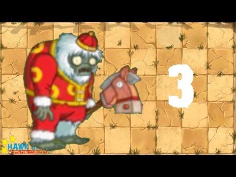 Plants vs. Zombies 2 China - Yeti Runaway 3《植物大战僵尸2》- 暴走雪人 3 - 동영상