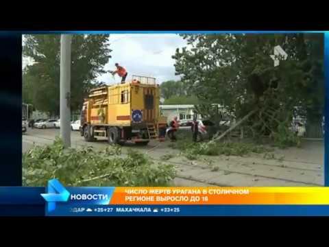 Столичные власти выплатят по 1 млн рублей семьям 16 погибших при урагане в Москве