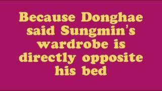 LEE DONGHAE MOST HATED COLOR?