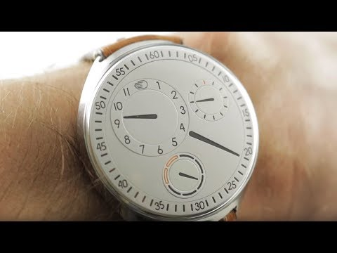Ressence Type 1 Slim (TYPE 1SW) Luxury Watch Review