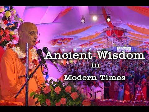 Ancient Wisdom in Modern Times | 1 November 2018 | @ ISKCON Gurugram