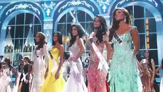 Miss Universe 2013 - Final results