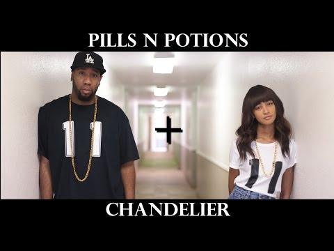 @NickiMinaj - Pills N Potions / @Sia - Chandelier (MASHUP COVER) | Random Structure TV