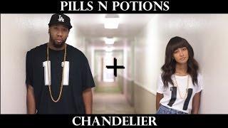 @NickiMinaj - Pills N Potions / @Sia - Chandelier (MASHUP COVER)