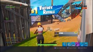 Fortnite aura skin gameplay 18 kill team rumble game