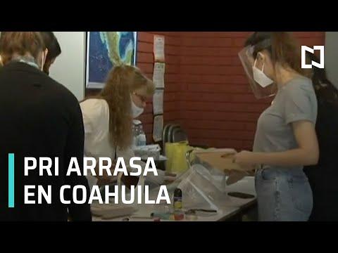 PRI arrasa en elecciones de Coahuila - Despierta
