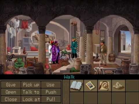 Let's Play Indiana Jones & the Fate of Atlantis Fists Path 1: I Get Beaten Up |