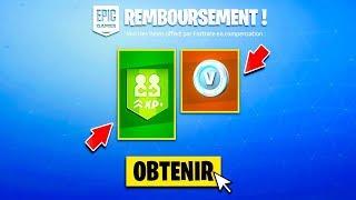 """FORTNITE OFFRE des V-BUCKS pour """"LA FIN DU CUBE"""" DISPONIBLE POUR TOUS sur FORTNITE ! 😱"""