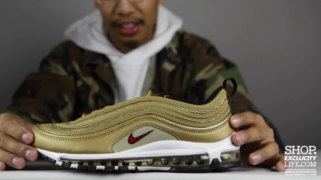 Cheap Nike Air Max 97 Metallic Gold 2017