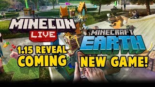 Minecraft Earth - New Game Andamp 1.15 News For Minecon Live