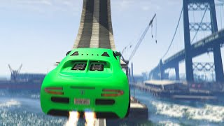 LOOPS ON WATER (GTA 5 Funny Moments)