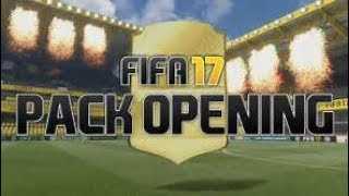PACK OPENING FIFA 17 ( 100% REAL NO FAKE)