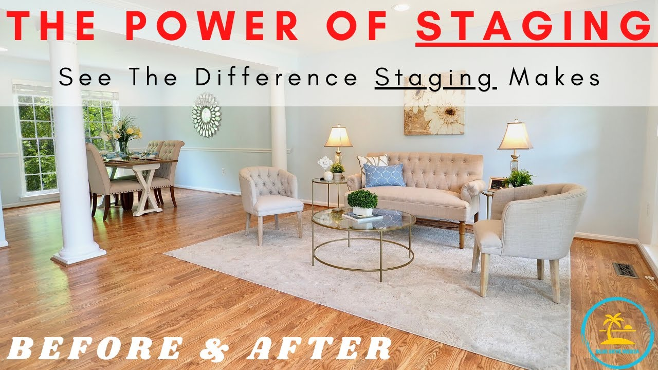 Before and After Example of Why Realtors Should Stage Your Listings