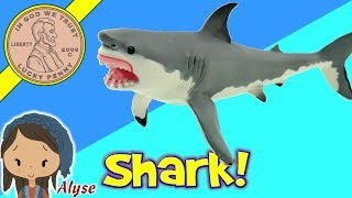 Safari Ltd Sharks - Great White - Tiger - Lemon